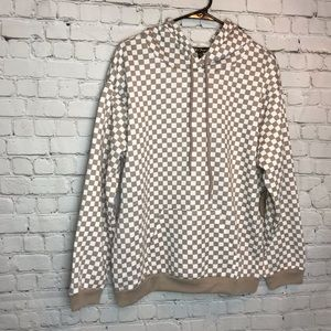 Gypsies & Moondust Checkered Hoodie